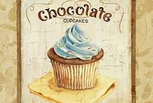 YUMM...!! PINTURA Y/O DECOUPAGE / Imágenes para utilizar en pintura decorativa o decoupage. Para decorar cajas, tablas, cuadros para la cocina, comedor de diario...antojitos pintados!!!!