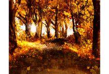 Landscape - Paesaggi / Diipinti digitali raffiguranti Paesaggi