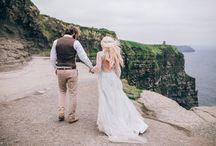 Romantic Cliffs of Moher Elopement