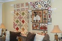 Quilt display ideas