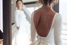 """El """"clásico"""" y precioso vestido de novia"""