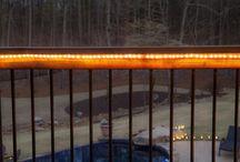 Terrassen lys hygge