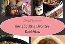 Family Favorite Recipes / Family Comfort Food~we all have those foods that feel like home. Here are some of our family favorites, we hope they become some of your families also