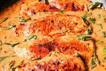 Chicken & Spinach