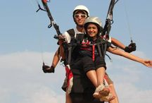 Paragliding / Experience the thrill and excitement of paragliding. It is a joyride with pure fun, excitement, and whatnot!