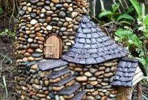 Kamenné domčeky
