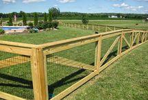 Yard fences