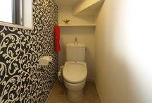 トイレ/階段下