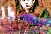 James Dean Pop art Cnavas / James Dean seen through the lens of famous Pop Art Artist Leah Devora. Very unique & simply fantastic pop art canvas prints of the Classic Hollywood legend James Dean like you never seen her before, Check out the James Dean Pop Art Collection at her website: http://leahdevora.com You can own one of these beautiful James Dean prints today, Conveniently buy James Dean pop art by Leah Devora for your home, office or establishment! You will love it & so will your friends!