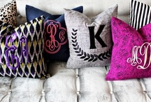pillows / by The Pampered Artist Andrea May