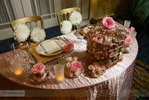 Creative Weddings Planning & Decor Fairmont Palliser Sweetheart Table / Pink and Gold photo shoot at the elegant Fairmont Palliser Hotel in Calgary, AB
