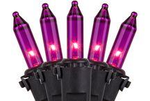 Purple Christmas Lights to Brighten the Holiday Season