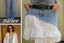 Upcycled and Recycled Clothes