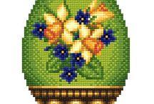 vihreäpohjainen narsissimuna