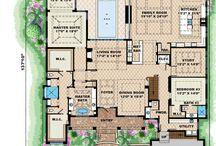 Mediterrán ház alaprajz