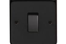 Electrical Switches Matt Black