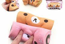 squishy fun swiss roll kawaii animals and food