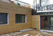 Architecture / architecture / bâtiments / matériaux / extérieurs / façades