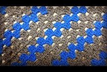 Crochet Blanket crochet video tutorials & written pattern / Find all my video tutorials and written patterns on this board for blankets.