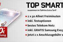 Schubladenverträge / Smartphones oder Tablets zu günstigen Konditionen durch Schubladenverträge.