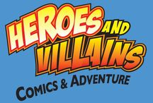 Heroes and Villians / My Favorite Comic Book and Movie Heroes and Villians  / by Chele Wells |Recruiter|FitRunner|Motivator
