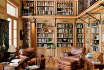 Library room in hotel