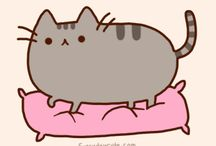 pusheen and simon's cat