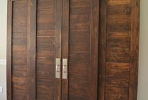 συρόμενες σαν barn doors
