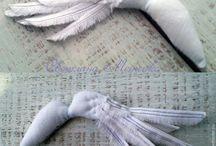 крылья из ткани
