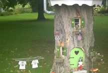 Gnome house - tree stump