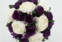 Brude blomster oppsett