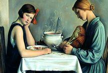 arte - Francois Emile Barraud (1899-1934) / arte - pittore svizzero