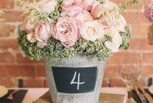 Wedding Buckets and Tins