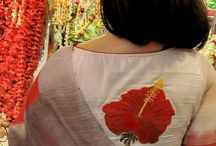 motifs on indian blouse