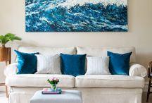 #ColourYourHome / Blue for a seaside home!