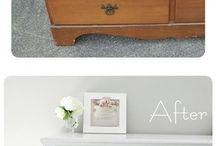 Dresser refinish