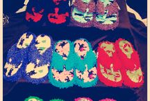 Thong Slippers /   / by Crazy For Bargains Pajamas