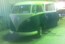 Alfie restoration journey with Kombi Celebrations / This pinboard is all about the full restoration journey of our beloved 1964 #splitscreen #kombi #weddingcar in 2014.  Credit to: spray painting by Greg Boyce at #bcpaintworx 0438 690 151 + Trimming by Steve  (Trimlab, Newcastle, Australia m:0403 487 543).  HIGHLY recommended - these guys rock our world!