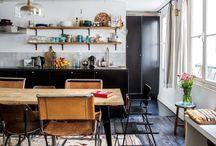 kitchen+dining - minimal / industrial / bohemian