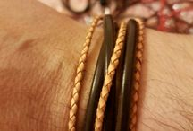 hand made bracelets- by dan4