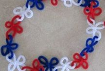 Patriotic crafts/activities  / by Katie Bates