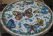 table mozaik