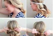 Hairstyles and fun hair tips