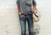 Ботинки и брюки
