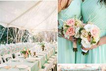 teal wedding theme