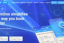 Enterprise healthcare at home software