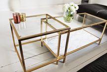 ikea marble table hack