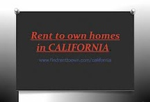 Rent To Own Home In California