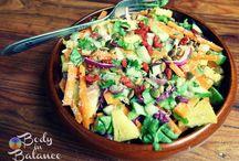 Vegan recipes - Salad