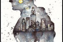 The Dark Knight / by Rebekah Pearson